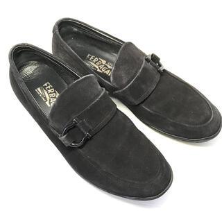 フェラガモ(Ferragamo)のフェラガモ レディース スエードローファー サイズ6.5(ローファー/革靴)
