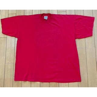 PRO CLUB 3XL 赤 半袖Tシャツ 貴重アメリカ製 3回着用 プロクラブ(Tシャツ/カットソー(半袖/袖なし))