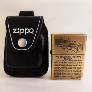 ジッポー(ZIPPO)の【美品ビンテージ】zippo ジッポー アンティーク ゴールド ロゴ入り(タバコグッズ)