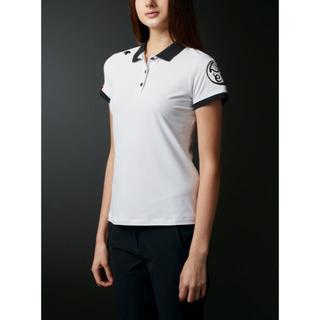 DESCENTE - DESCENTE    万美シリーズ   半袖ポロシャツ