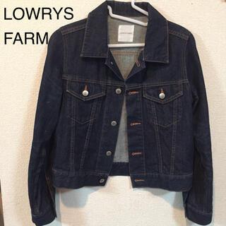 ローリーズファーム(LOWRYS FARM)のLOWRYS FARMインディゴデニムジャケット(Gジャン/デニムジャケット)