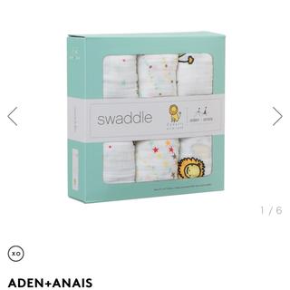 エイデンアンドアネイ(aden+anais)のプレゼント用バーニーズニューヨーク♡限定おくるみ3枚セット(その他)