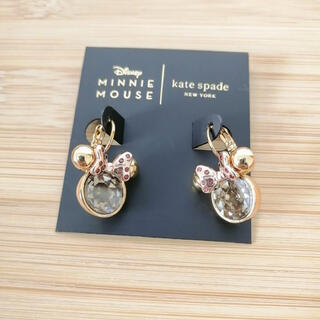 kate spade new york - 新品♡本物♡ ケイトスペード ミニーマウス ピアス