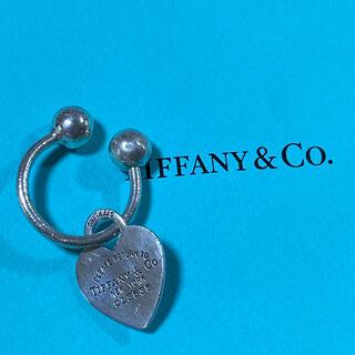 ティファニー(Tiffany & Co.)のティファニー sv925 シルバー キーホルダー チャーム ハート(キーホルダー)