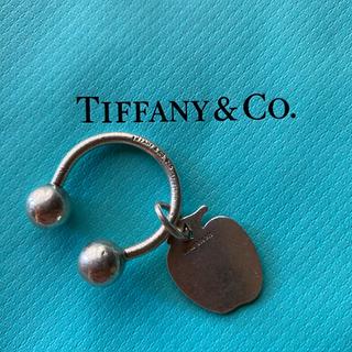 Tiffany & Co. - ティファニー sv925 シルバー キーホルダー チャーム アップル