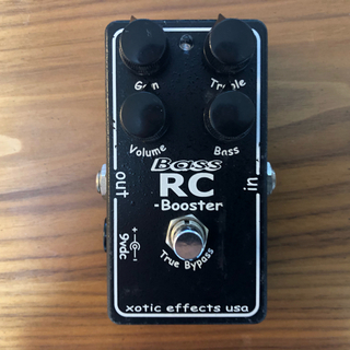 Xotic Bass RC Booster(ベースエフェクター)