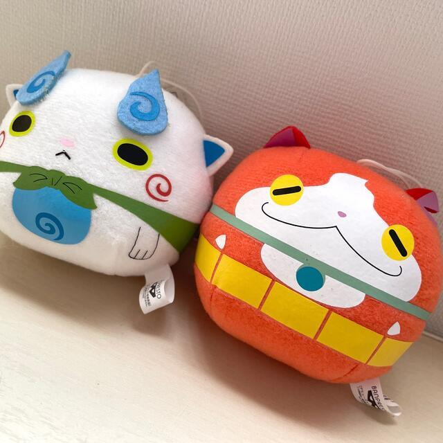 BANPRESTO(バンプレスト)のジバニャン✴︎コマさん✴︎まんまるマスコット エンタメ/ホビーのおもちゃ/ぬいぐるみ(キャラクターグッズ)の商品写真
