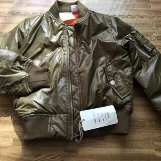 ロンハーマン(Ron Herman)の未使用 タグ付き キッズ MA-1 ブルゾン ジャケット 最終価格(ジャケット/上着)
