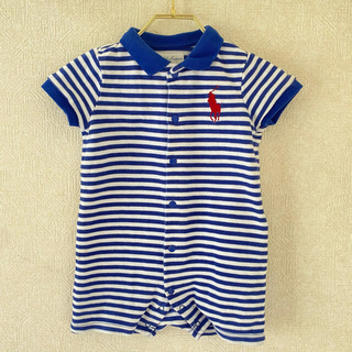Ralph Lauren - ラルフローレン  ポロシャツ 半袖 ロンパース 6M 70cm
