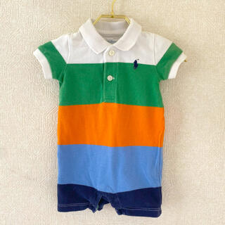 Ralph Lauren - ラルフローレン ポロシャツ ロンパース 3M 60cm ベビー服