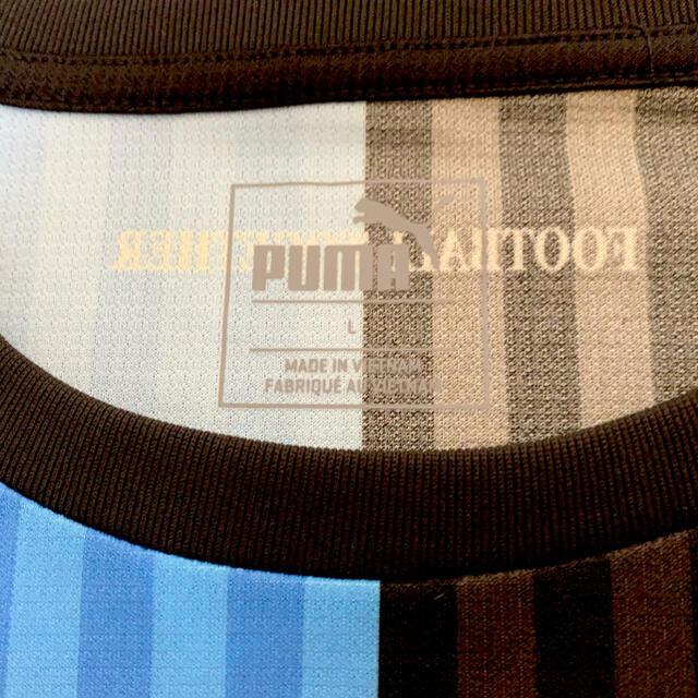 PUMA(プーマ)の川崎フロンターレ 2018年ホームユニフォーム 背番号14  中村憲剛 Lサイズ スポーツ/アウトドアのサッカー/フットサル(ウェア)の商品写真
