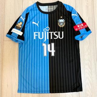 PUMA - 川崎フロンターレ 2018年ホームユニフォーム 背番号14  中村憲剛 Lサイズ