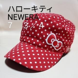NEW ERA - NEWERA ハローキティ キャップ 帽子 ワーク 61.5