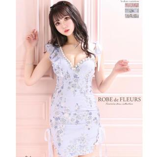 ROBE - ローブドフルール ドレス ブルー
