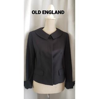 オールドイングランド(OLD ENGLAND)の未使用品レベル OLD ENGLAND  日本製 本物お嬢様の可愛いジャケット(ノーカラージャケット)