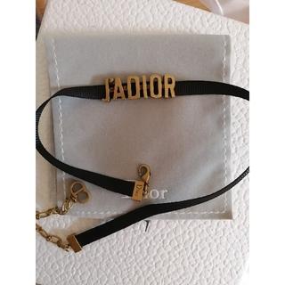Dior - クリスチャンディオール jadior チョーカー ネックレス