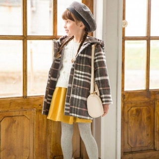 グローバルワーク(GLOBAL WORK)のコート 女の子 130(ジャケット/上着)