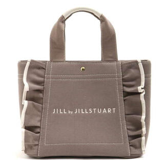 JILL by JILLSTUART - JILLSTUART ジルバイ ジルスチュアート フリルトートバッグ モカ