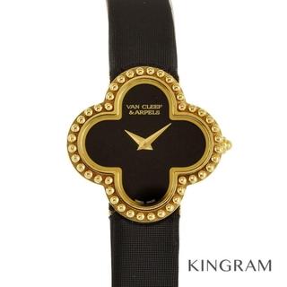 ヴァンクリーフアンドアーペル(Van Cleef & Arpels)のヴァンクリーフ&アーペル ヴィンテージ アルハンブラ ミニウォッチ  レディース(腕時計)