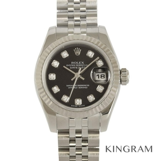 ロレックス(ROLEX)のロレックス デイトジャスト レディース ダイヤ付  レディース腕時計(腕時計)