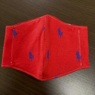 馬 赤 インナー ハンドメイド(外出用品)
