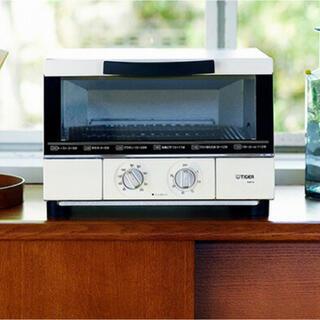タイガー(TIGER)のタイガー  うまパントースター KAE-G13N トースター マットホワイト(調理機器)