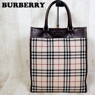 BURBERRY - バーバリー BURBERRY トートバッグ ハンドバッグ ノバチェックA4収納可