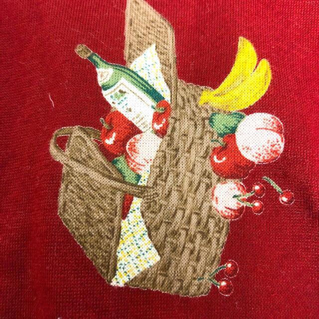 PINK HOUSE(ピンクハウス)のピンクハウス PINKHOUSE くまちゃん ピクニック 原宿 レトロ 巾着 レディースのトップス(シャツ/ブラウス(長袖/七分))の商品写真