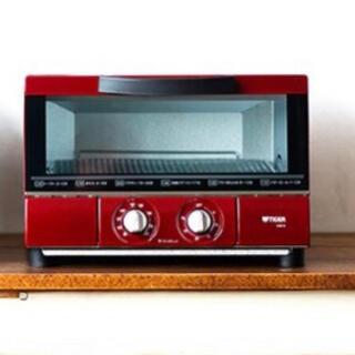 タイガー(TIGER)のレッド タイガー うまパントースター KAE-G13N トースター(調理機器)