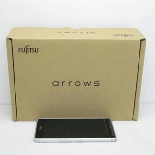 アローズ(arrows)の【S】SIMフリー ARROWS M03 ホワイト(スマートフォン本体)