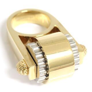 バレンシアガ(Balenciaga)の バレンシアガ リング メタルスピナー ゴールド シルバー(リング(指輪))