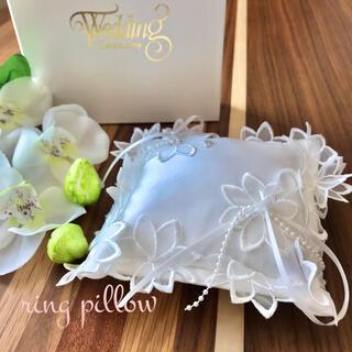 ring pillow リングピロー ホワイト(リングピロー)