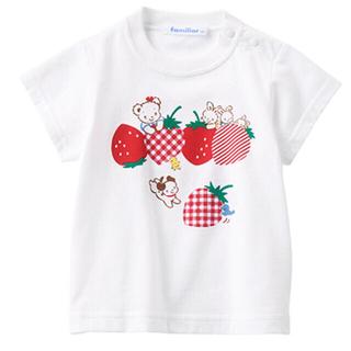 familiar - ファミリア おはなしTシャツ 120 新品 未使用