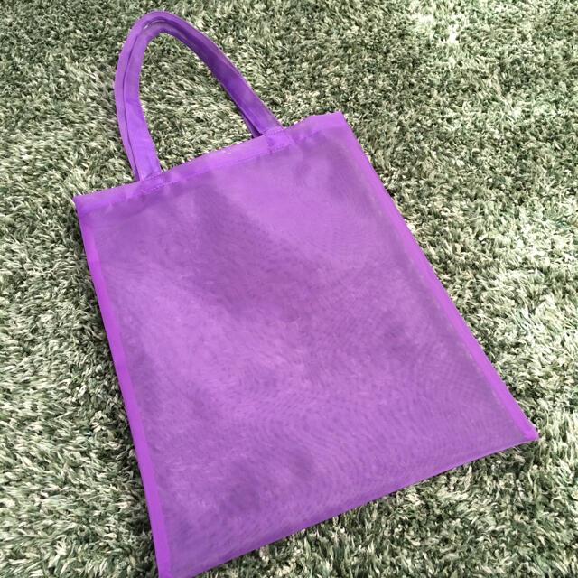 GU(ジーユー)のgu チュールトートバッグ レディースのバッグ(トートバッグ)の商品写真