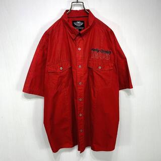 ハーレーダビッドソン(Harley Davidson)のHARLEY DAVIDSON 半袖シャツ 2XLサイズ(シャツ)