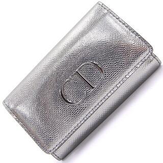 クリスチャンディオール(Christian Dior)の ディオール 6連キーケース マニア シルバー レザー(キーホルダー)