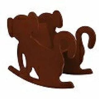 新品【マニー&サイモン ロッキングチェア 猿】(輸入店価格37000円)(ロッキングチェア)