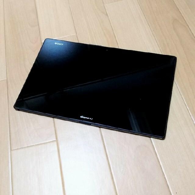 NTTdocomo(エヌティティドコモ)のSONY Xperia Z2 Tablet SO-05F WHITE スマホ/家電/カメラのPC/タブレット(タブレット)の商品写真