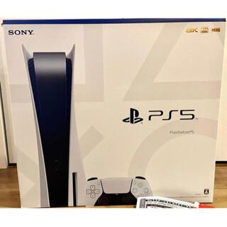 プレイステーション(PlayStation)のPS5 本体 新品(家庭用ゲーム機本体)