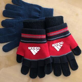 アディダス(adidas)のアディダス 手袋 小学生用サイズ(手袋)