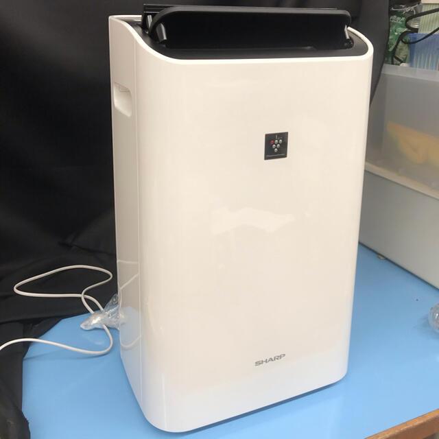 SHARP(シャープ)の【箱・取扱説明書付き】SHARP CV-G120-W 衣類乾燥除湿機 シャープ スマホ/家電/カメラの生活家電(加湿器/除湿機)の商品写真