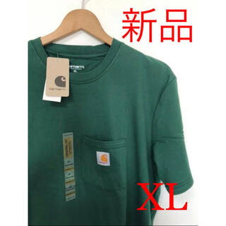carhartt - 新品未使用 カーハート ポケットTシャツ グリーン XL