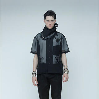 トーガ(TOGA)のTOGA virilis 16SS 刺繍シースルーシャツ(シャツ)