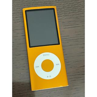アイポッド(iPod)のiPod nano 第4世代 16GB オレンジ(ポータブルプレーヤー)
