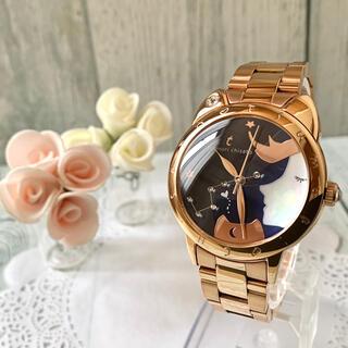 ツモリチサト(TSUMORI CHISATO)の【美品】TSUMORI CHISATO 腕時計 ドリーミーガール ピンクゴールド(腕時計)