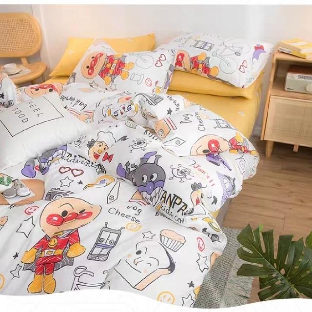 ☆アンパンマン☆布団3点セット キッズ/ベビー/マタニティの寝具/家具(シーツ/カバー)の商品写真