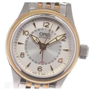 オリス(ORIS)の☆良品 オリス ポインター デイト 7680 自動巻き レディース 【中古】(腕時計)