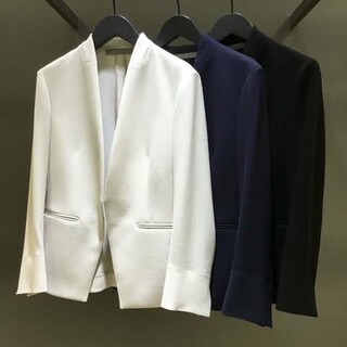 Theory luxe - 美品 theory luxe 2019年 Lift素材 ノーカラージャケット