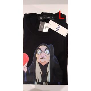 アンダーカバー(UNDERCOVER)のビッググラフィックT1(5分袖)UNDERCOVER GU 魔女T(Tシャツ/カットソー(半袖/袖なし))