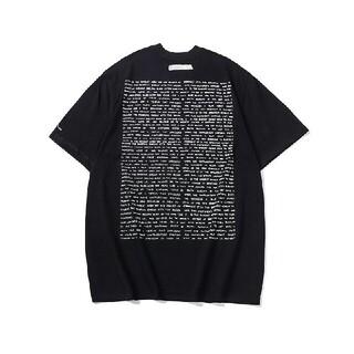 MAISON KITSUNE' - アダーエラー adererror Tシャツ A2